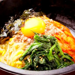비빔밥 / 돌솥 비빔밥 / 돌솥 갈비 비빔밥