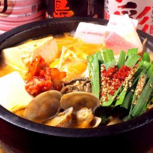 石烤豆腐湯/石烤大醬湯/石烤素湯