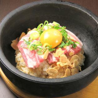 石烤大蒜米