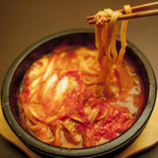 Spicy stone grilled Udon