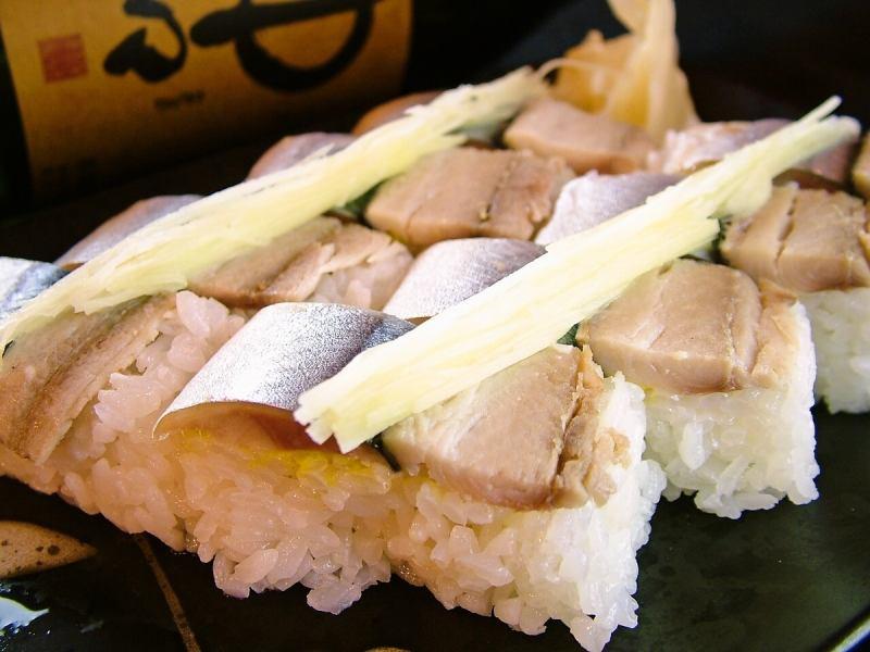特色沙納壽司