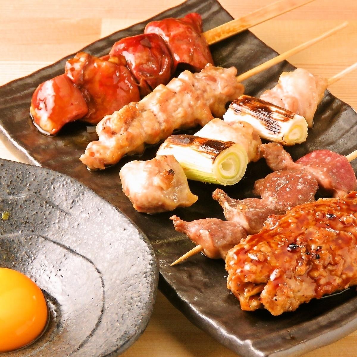 Boasting yakitori / chicken dishes ★