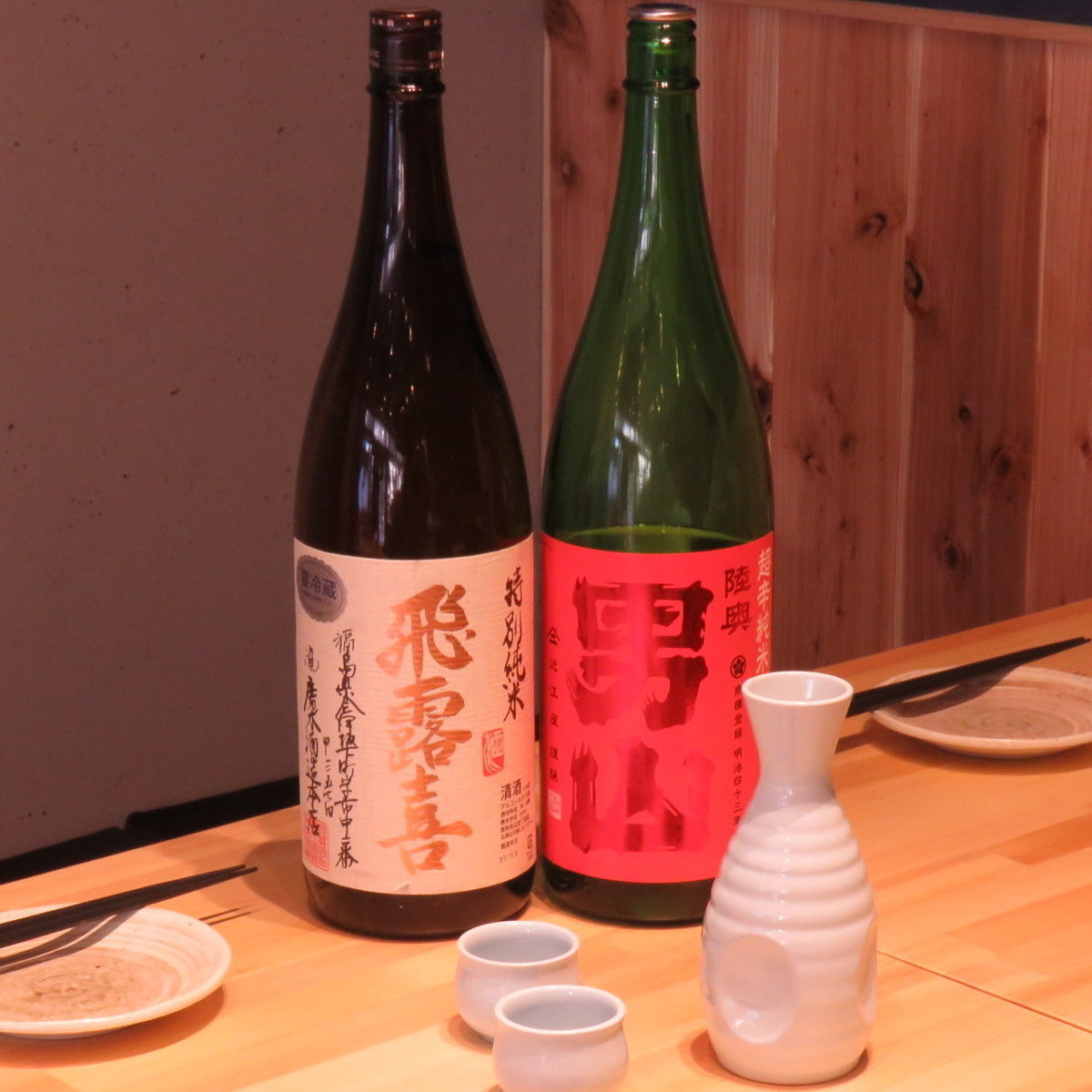 We have local sake all over the country!