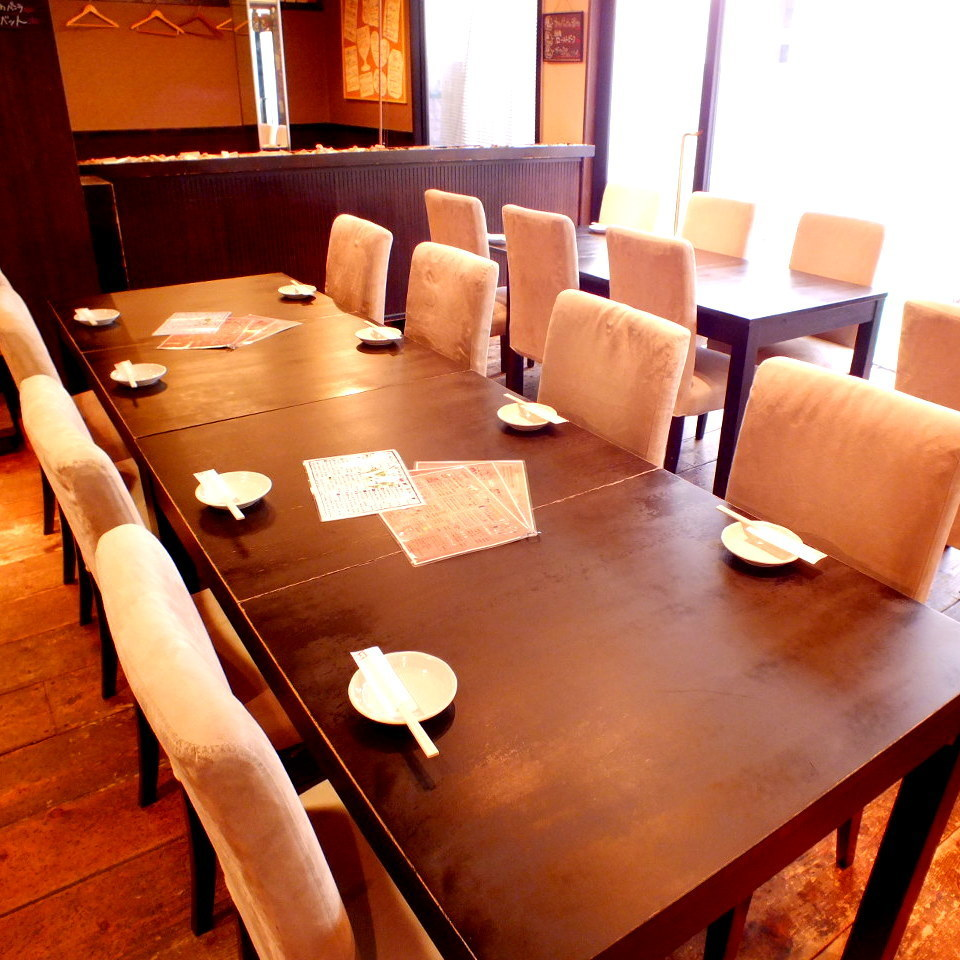 8 명 테이블