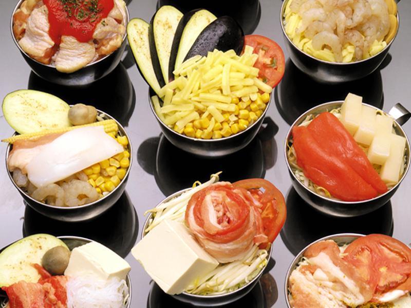 所有36种食物都可以吃!Monja,Okonomiyaki,面条等