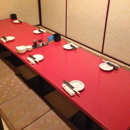 Private room for 6 to 8 people ☆ It is a very popular room for company banquets ☆ It is possible to correspond to a sudden banquet etc ♪ 【Osaka · Minami Mimori Town · Private Room Izakaya】