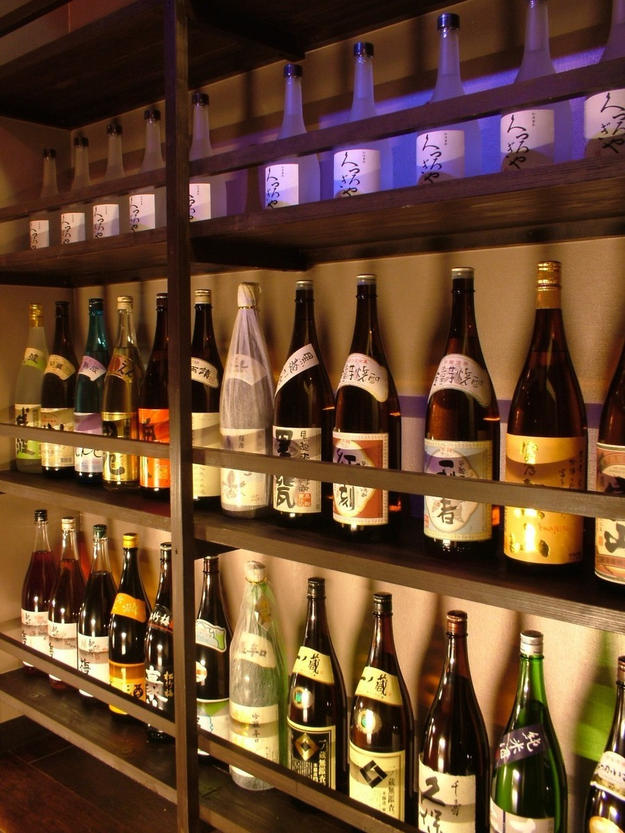 【More than 100 kinds of brands of sake】 Abundant sour and cocktails ♪