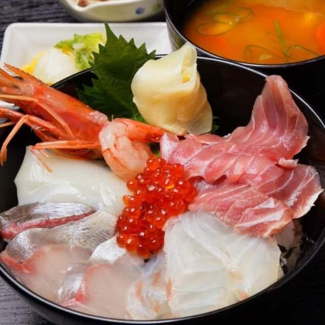 【推薦】生魚片·海鮮碗