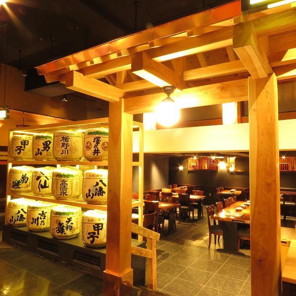 JR、東西線、西武新宿線の3つの駅があり高田馬場駅はアクセスがとても良くて土風炉高田馬場店は駅から徒歩30秒です♪お座敷は全席足がゆったり伸ばせる掘りごたつ席で4名様から18名様の色々なシーンでの個室を用意しています。接待や急なお集まり、接待や記念日、誕生日会にも最適な個室です。