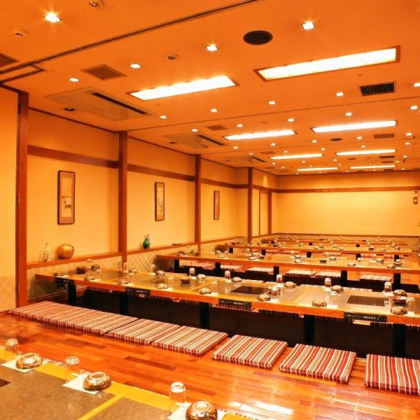 【Maximum of 100 people available OK】 Takadanobaba store Private rooms are reserved with the largest size! In addition, various private rooms are prepared according to the number of people ♪ Please leave the calming banquet and the exciting banquet to the soil furnace We are accepting reservations for banquets ◎ Please do not hesitate to consult with cakes such as birthday or anniversary.