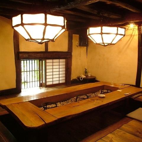 这是私人房间的晚餐座位。※图片是图片。