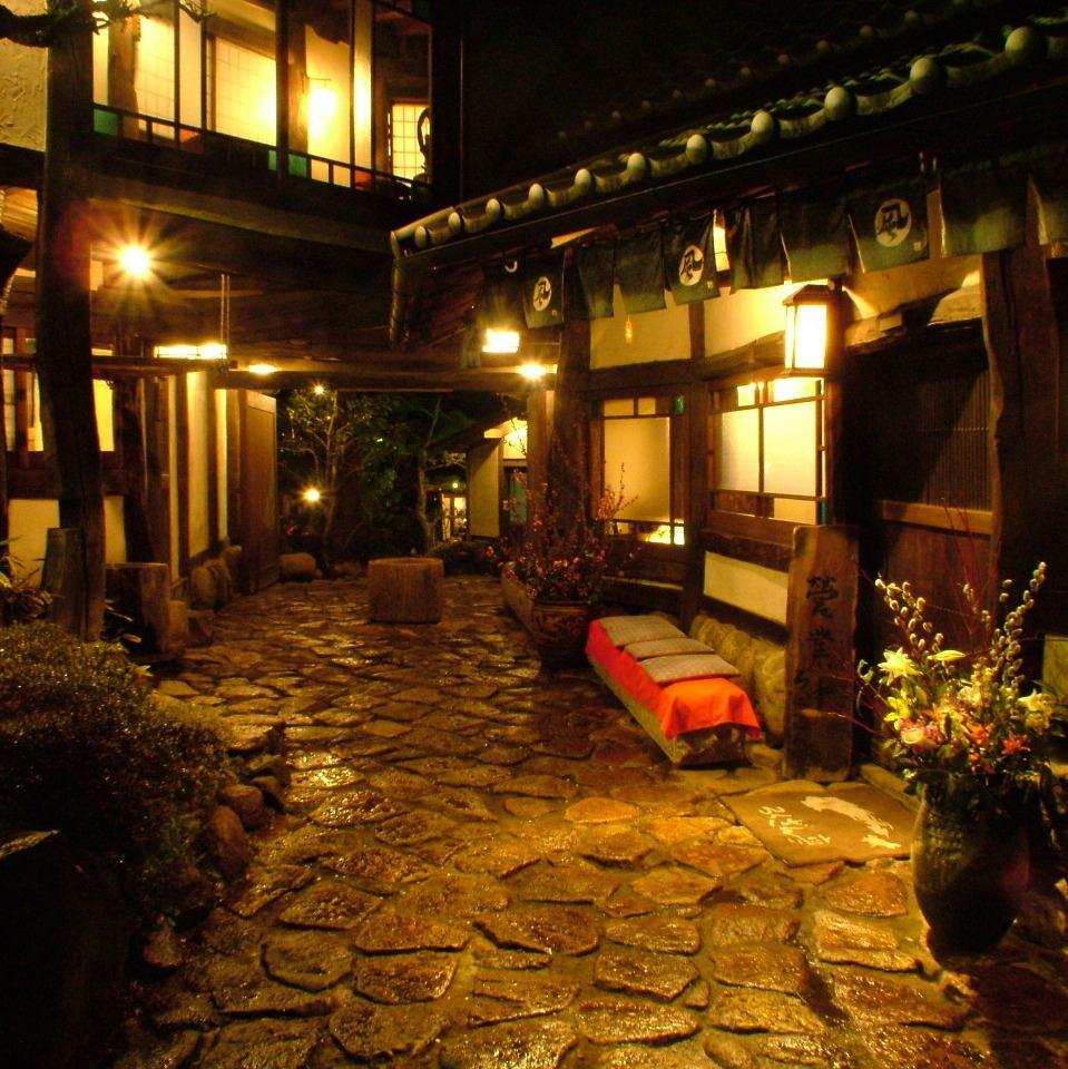 高尾の山の完全個室。喧騒を離れて時を忘れる極上の宴が楽しめます