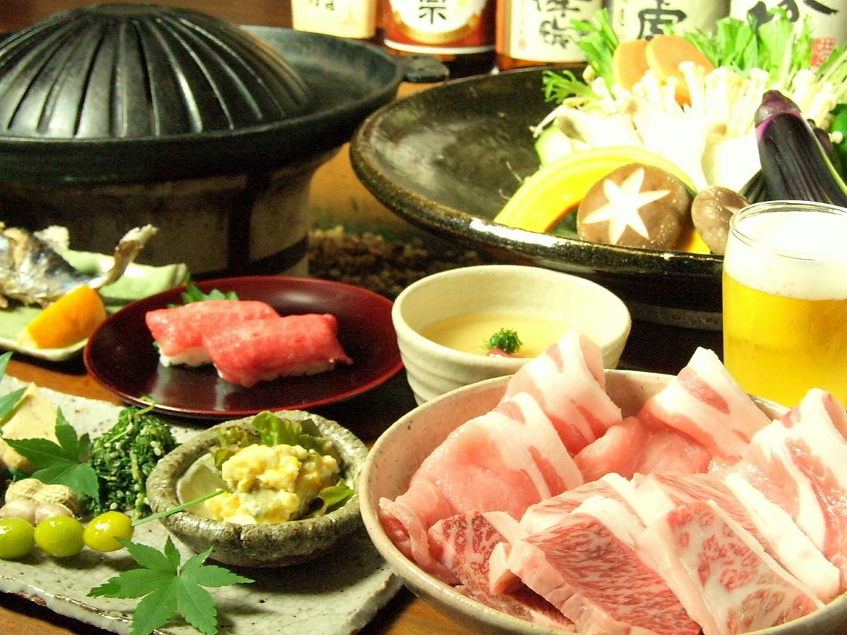 【季節折々のコース料理】