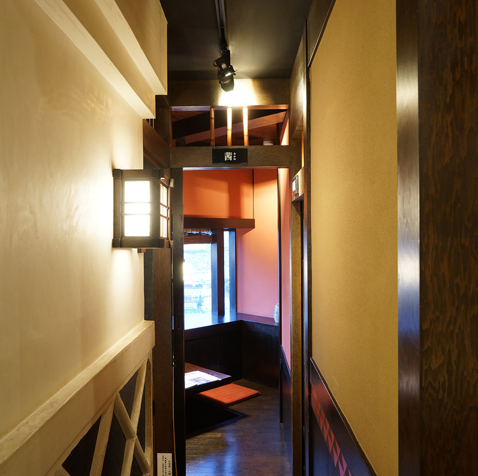 【Individual room enrichment】 Excellent sense of omission.As well as dating, chatting with close friends