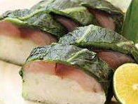 サバの高菜寿司