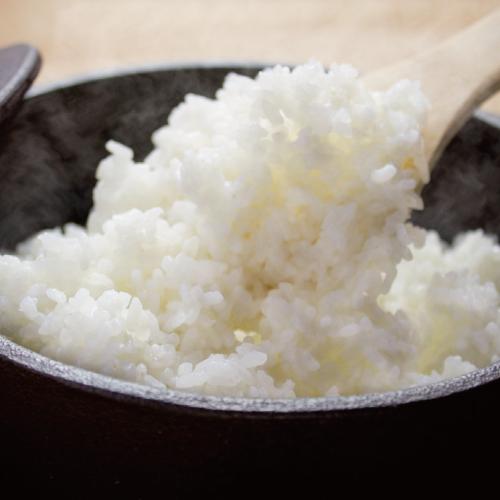玄米より自家製米ご飯(中/大/メガ)