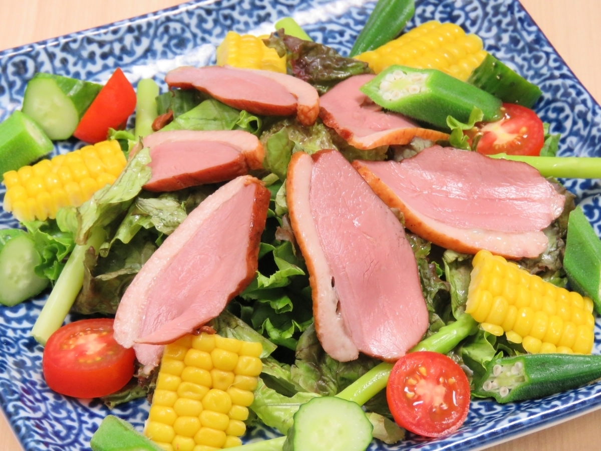 【Itoshima direct delivery!】 ◆ duck and Itoshima vegetable salad ◆