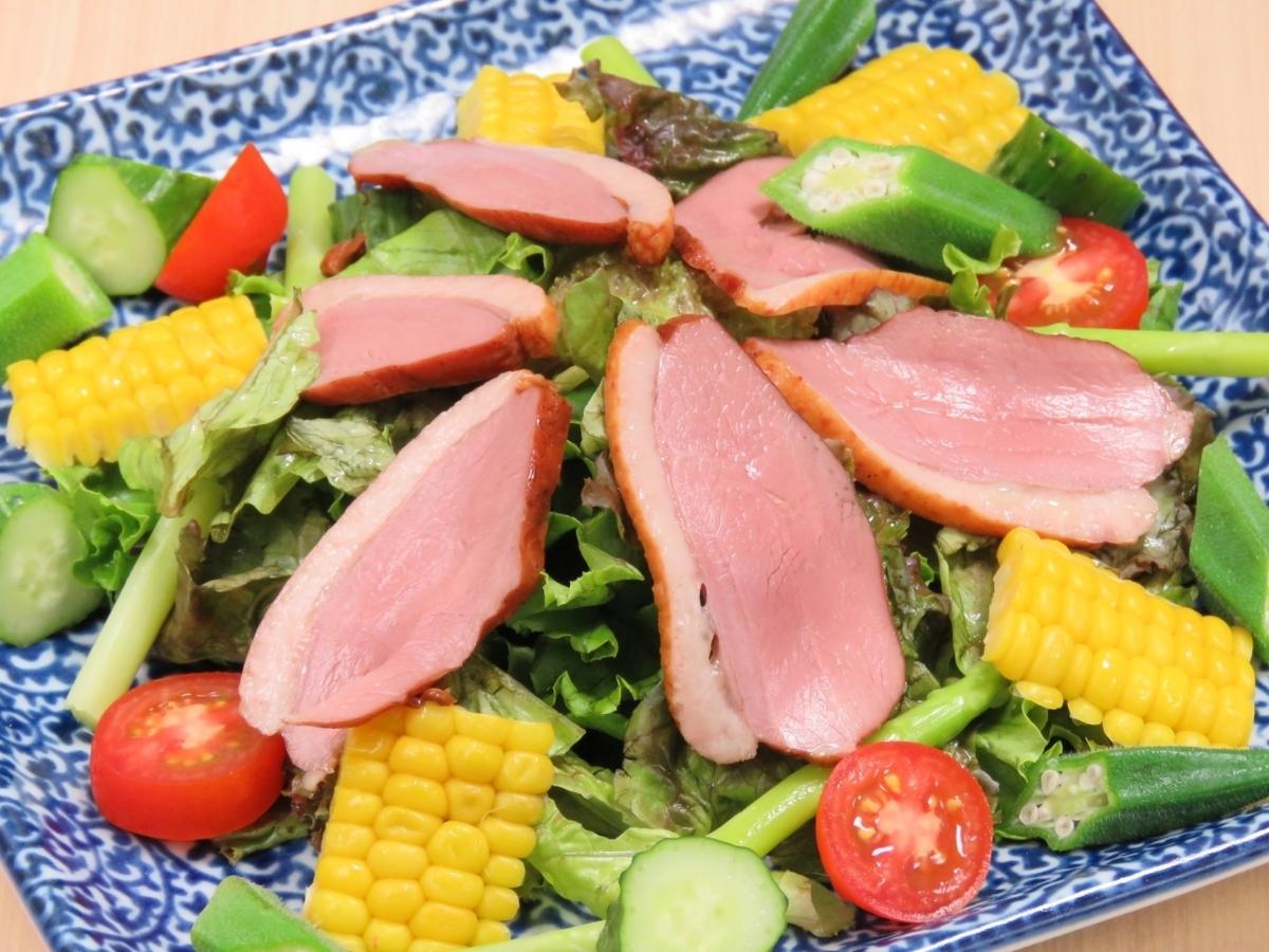 [이토 직송】 ◆ 오리와 이토 야채 샐러드 ◆