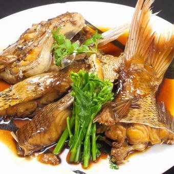 【旨味広がる】◆鯛(あら炊き/酒蒸し)◆