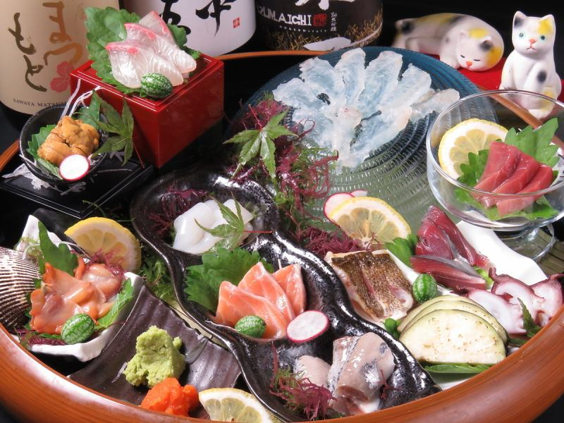 "【Required order】! Special selection! Sashimi Assortment ""You can enjoy more than 10 types"""
