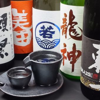 Local sake, ground shochu etc All menu All you can drink 3 hours with premium course 5000 yen ◆ With a pot to choose ◆