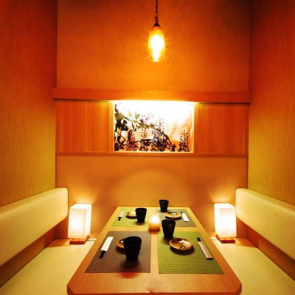 【Station Chika】從橫濱站西口步行3分鐘♪放鬆的BOX座位◎適合小型團體飲酒派對,包括飲酒派對·女孩派對·娛樂