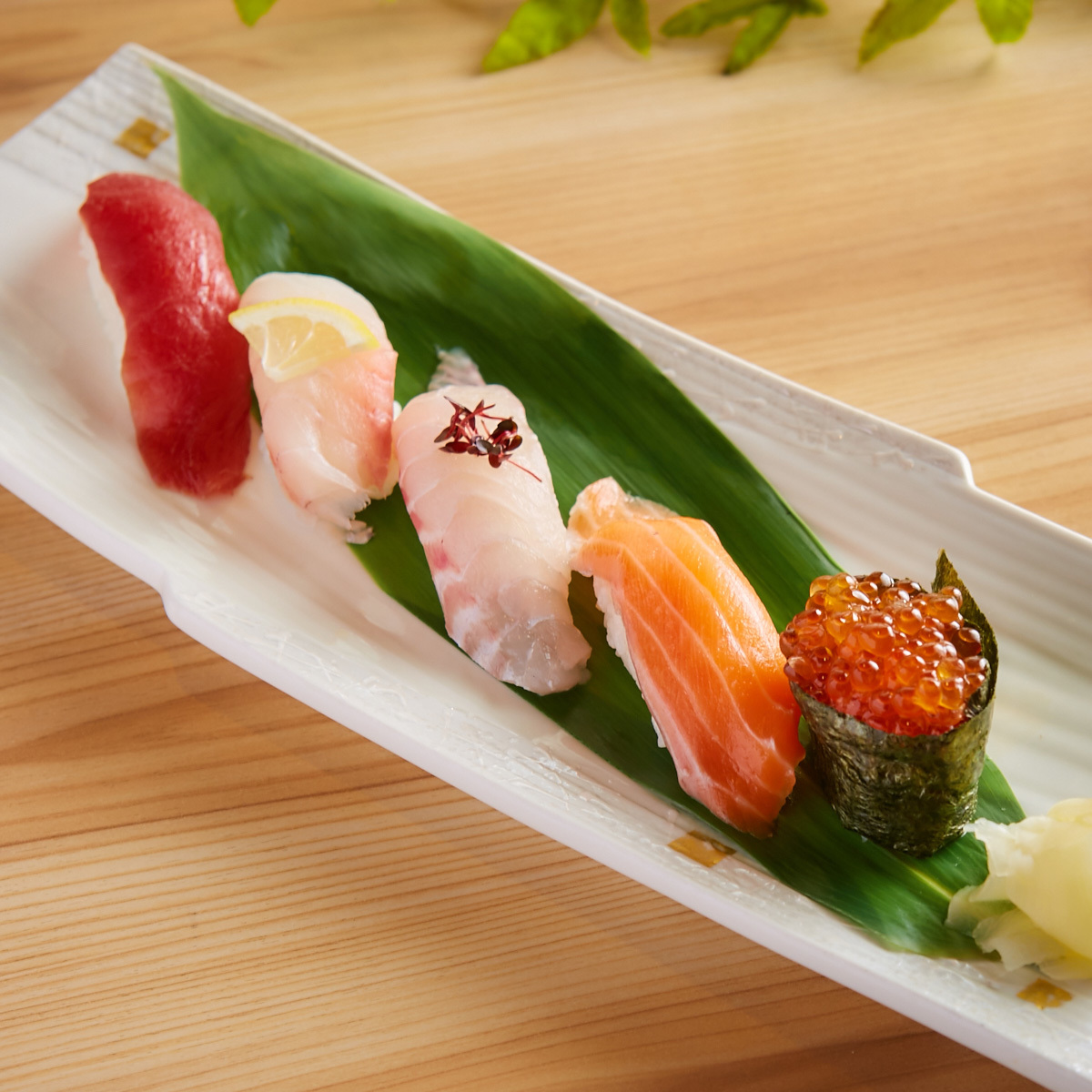 握壽司(5支)