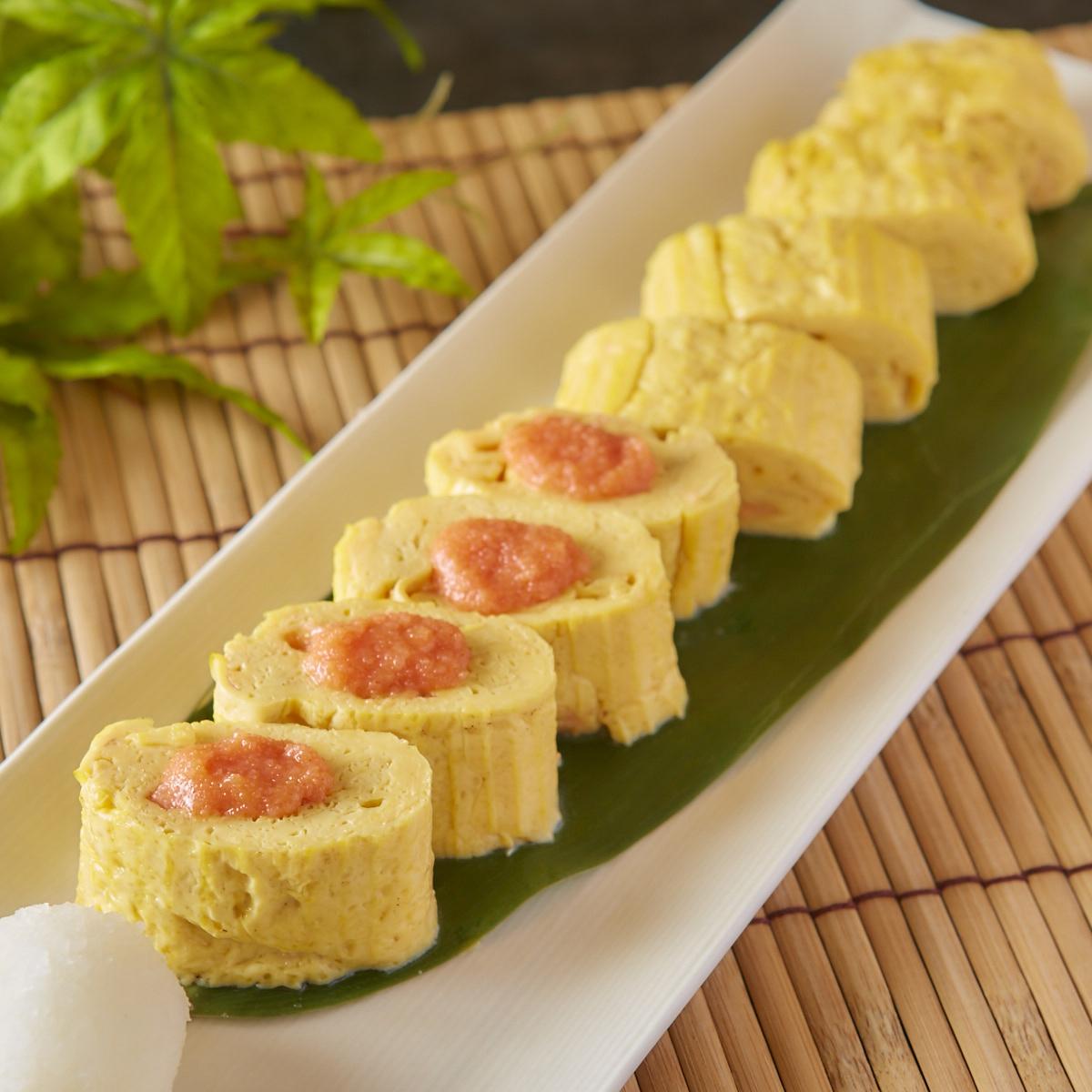 明太チーズ出汁巻き