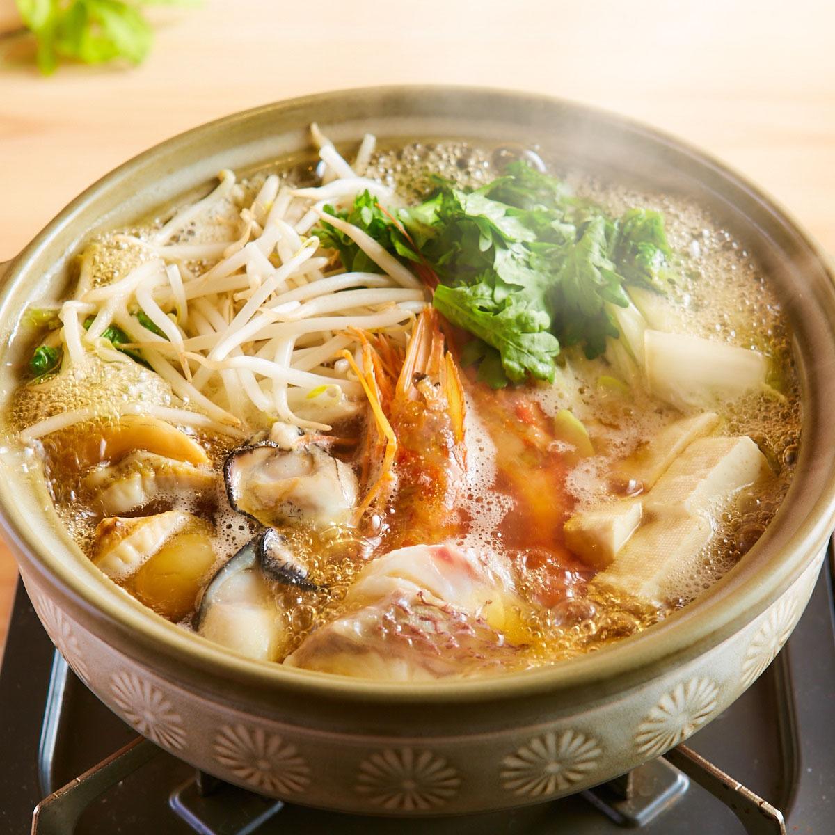 豪華的海鮮鍋