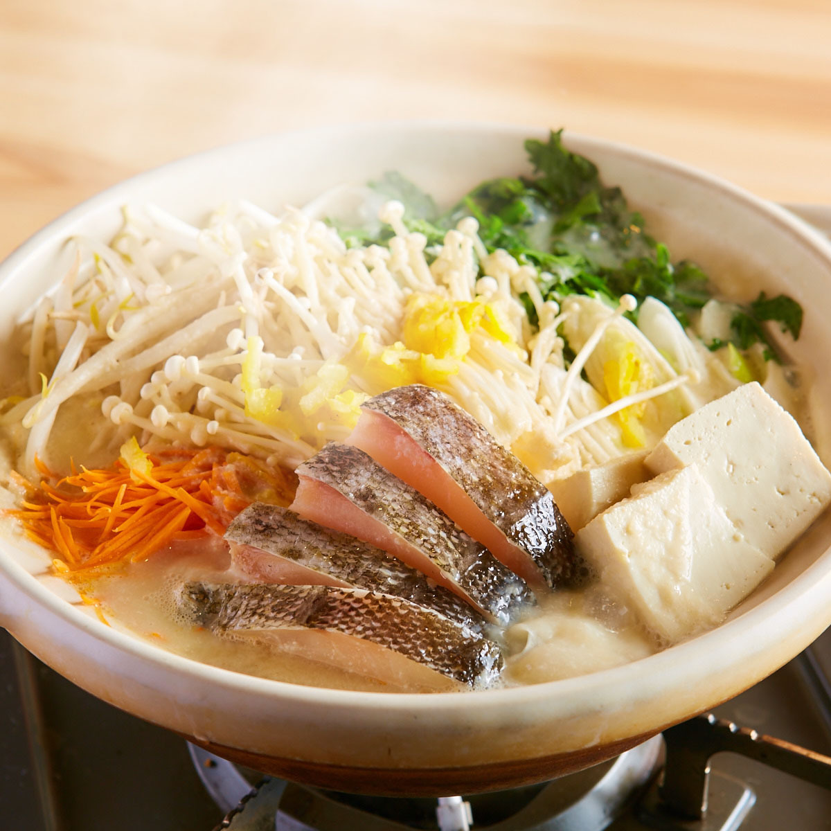 鱈の味噌鍋