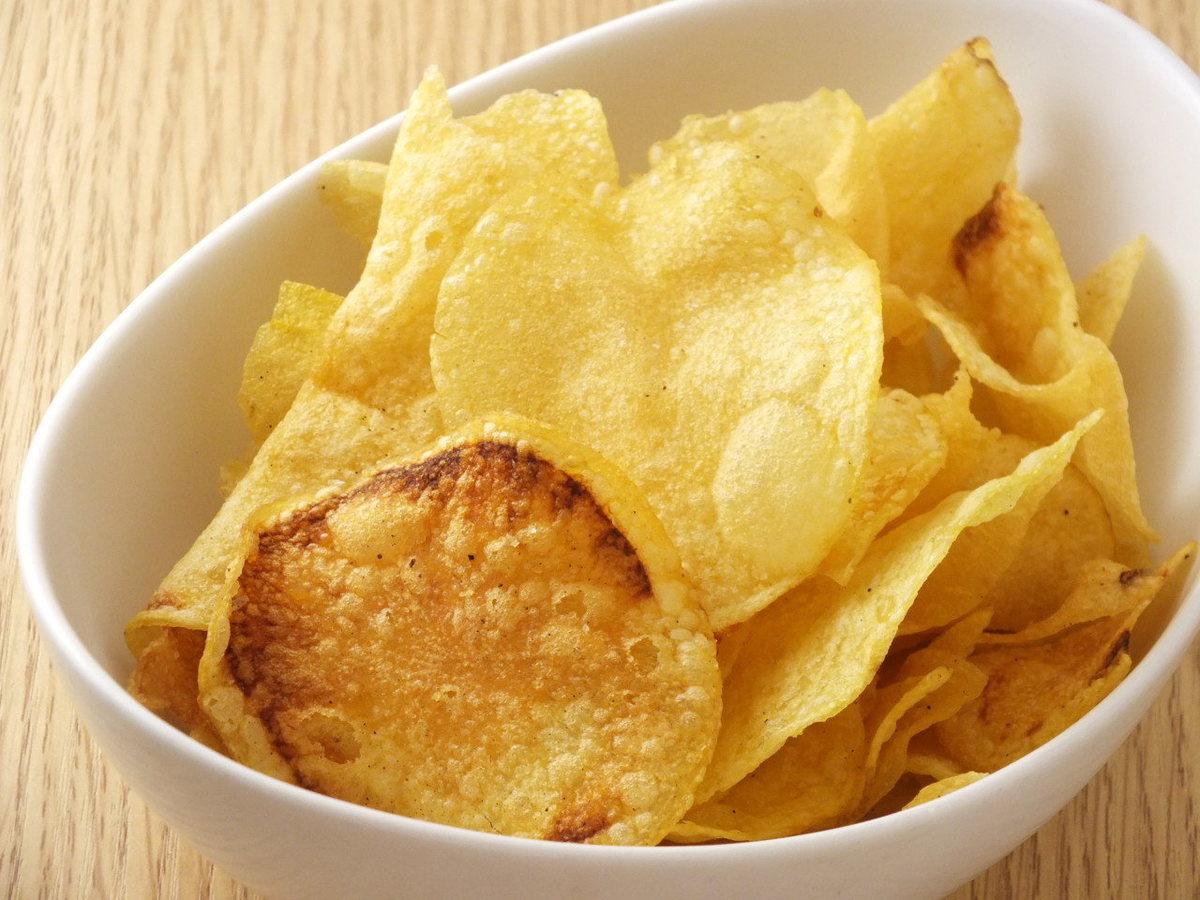 黑松露土豆片