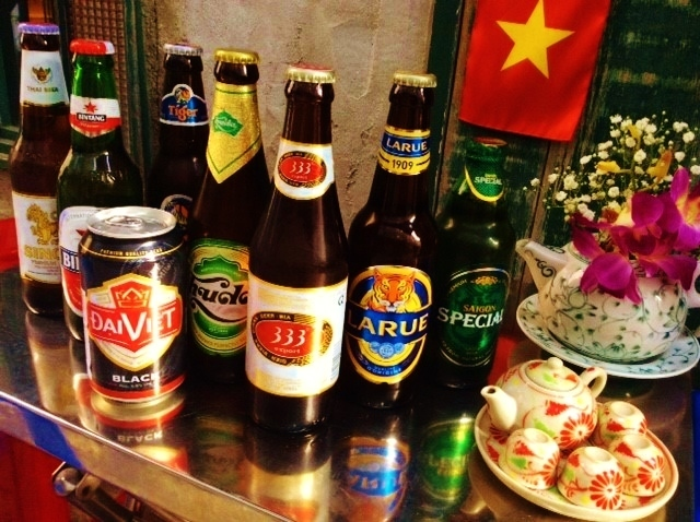 8 kinds or more of Asian beer is prepared ★