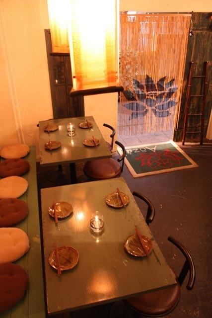 一樓的桌椅,充足的開放性