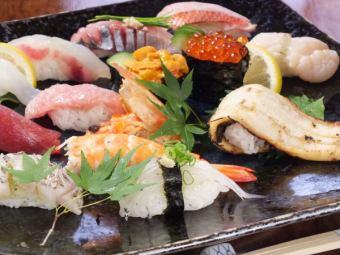 〜厨师Omakase寿司套餐 - 所有13种3000日元