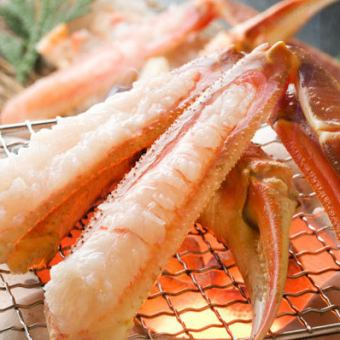 3.5 hours All you can drink + 10 dishes of cuisine + Yakitori or pot all you can eat as well as snow crab ⇒ 3499 yen (tax included) Sakuraguku course