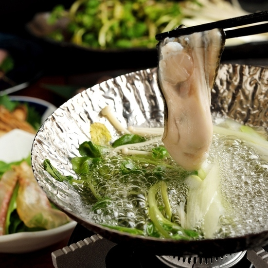 Oyster sake shabu (single item)