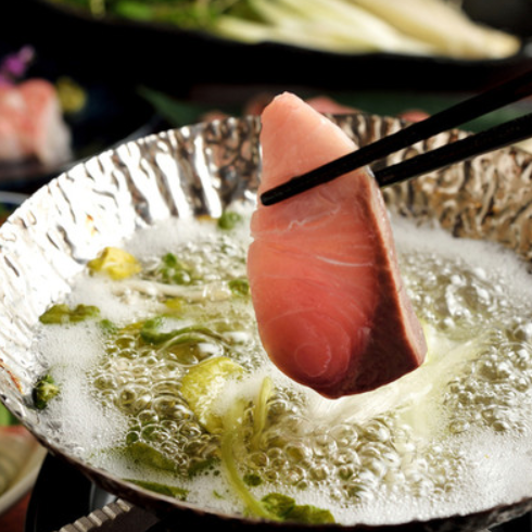 Sho-shabu of aged fish (single item)