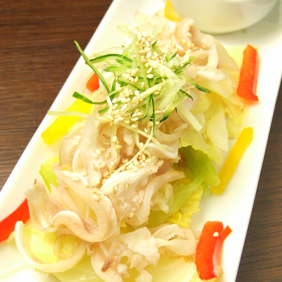 Cabbage and Mimiga's Shikuwasa Ponzu