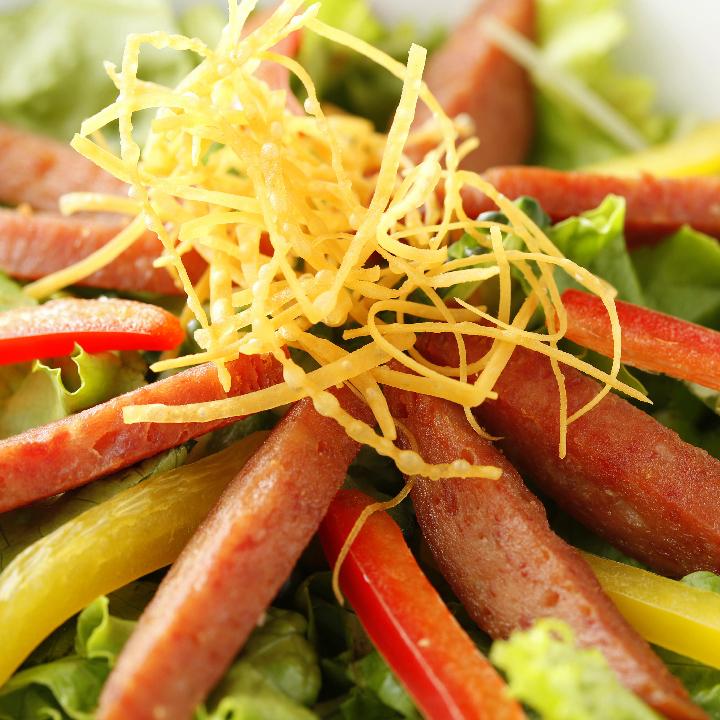 Crisp spam salad