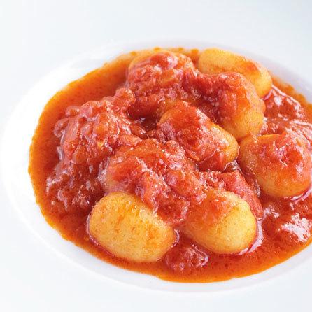 トマトソースのニョッキ