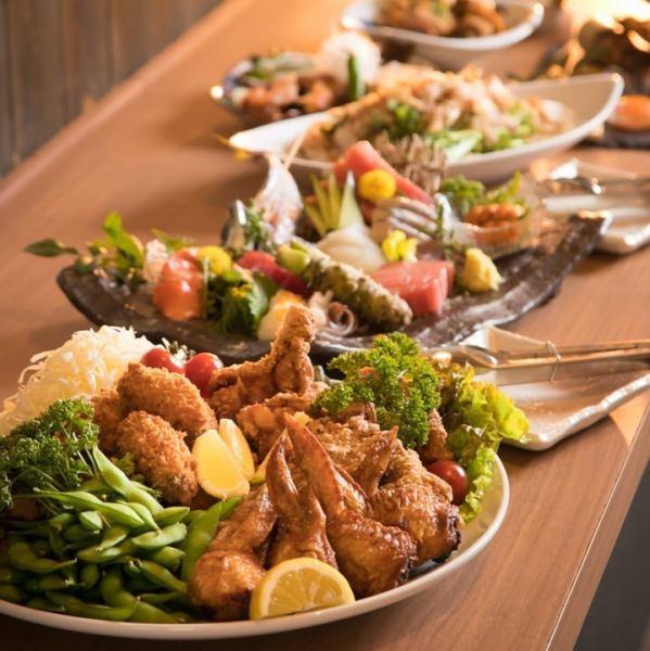 [Nanki-ekimaeeee]選擇以寶石和寶石為特色的時令食材和葫蘆如果您是南基的酒吧,推薦Oohasa!