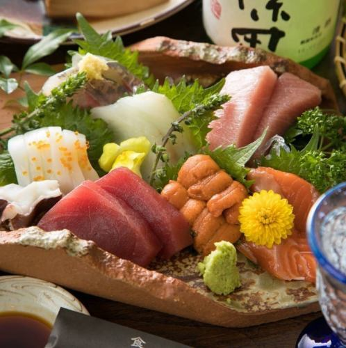 Special course ◆ Seasonal sashimi, soft boiled rice, special mixed rice <6 dishes> 4000 yen (excluding tax)