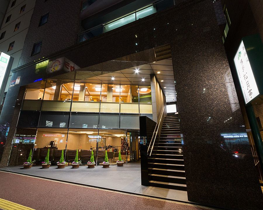 【1 minute walk from Hakata Station Chikushi mouth】 It is open on the 2nd floor of Hotel Sunroute Hakata.