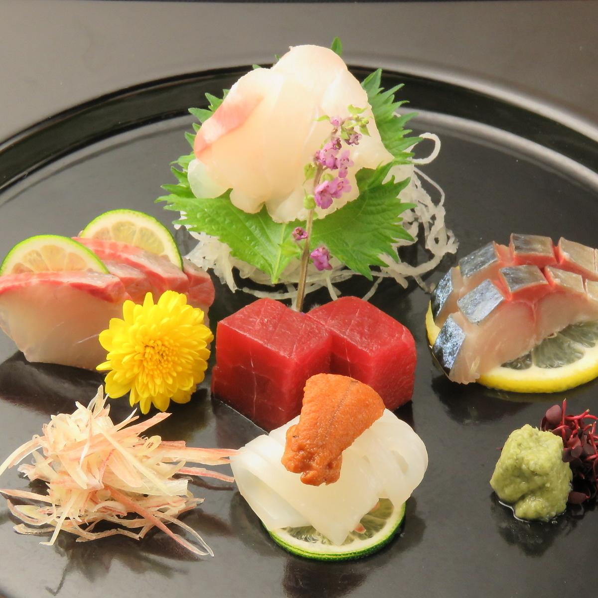 什錦生魚片生魚片