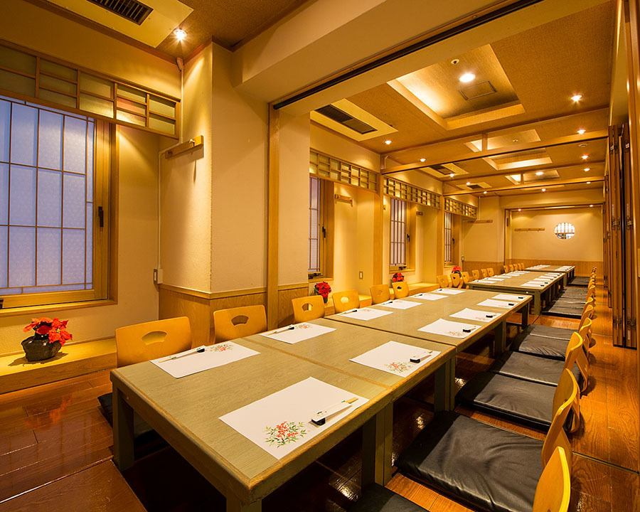 【Completely single room 2 people up to 30 people OK】 It is also ideal for large groups of banquets.