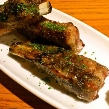Iberico swine simple spare rib