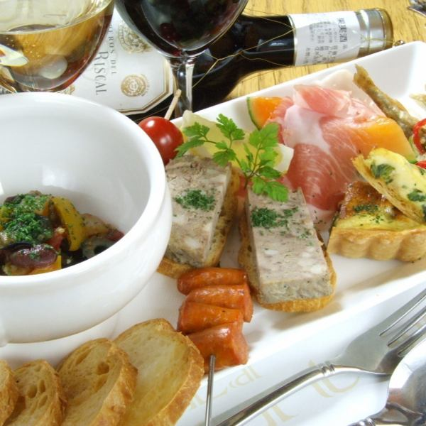 Pinchomisuto (appetizer platter)