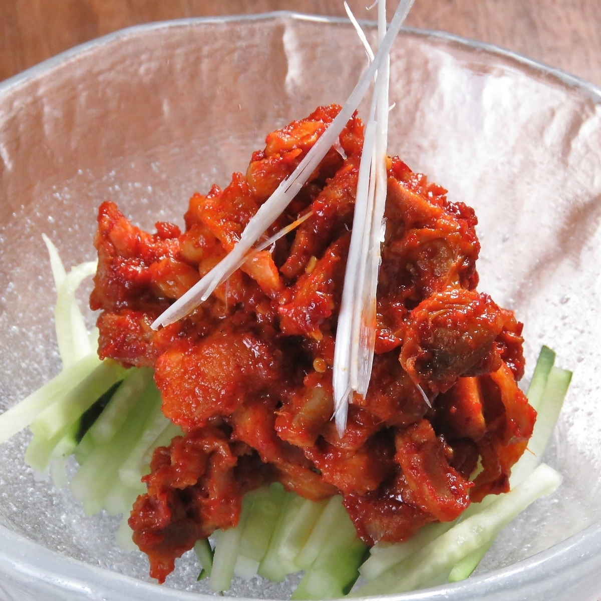 Homemade chicken chanja
