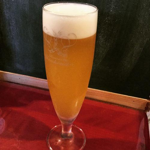 プレミアム生ビール『しろほのか』が国立で飲める!