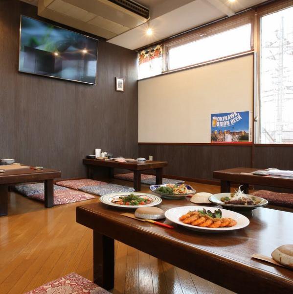 在琉球谷仓酒吧充满清洁,派对时最多可容纳34人!从外面无法想象的放松感觉♪我们也可以回应公司宴会等大量宴会的包机等要求如果您愿意,请随时与我们联系!